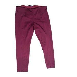 d. jeans burgundy red stretch skinny pants Plus 20